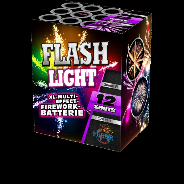 Салют Flash Light на 12 выстрелов Фото 1
