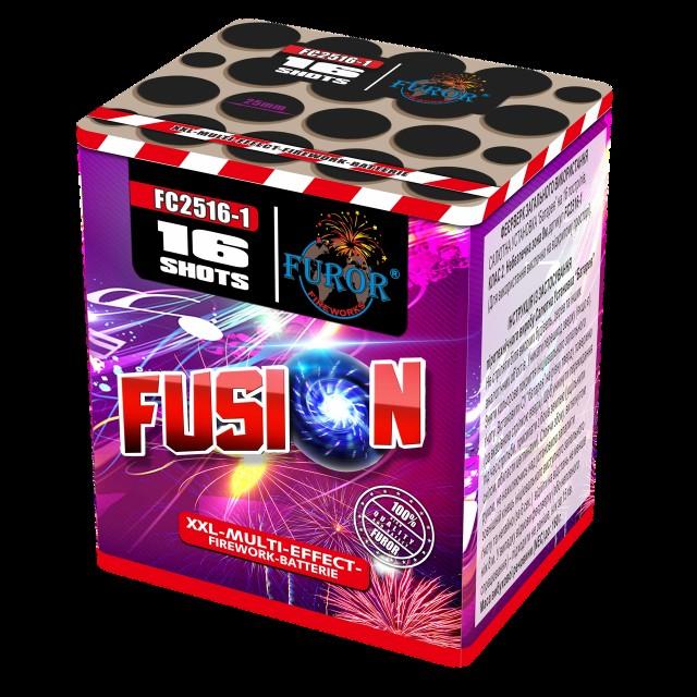Салют Fusion на 16 выстрелов