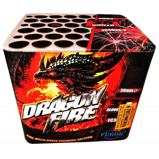 Салют Dragon Fire на 36 выстрелов Фото 1