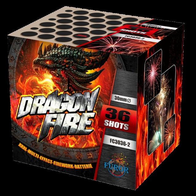 Салют Dragon Fire на 36 выстрелов