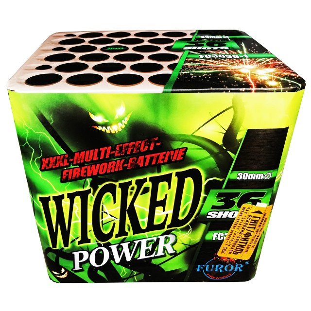 Салют Wicked Power на 36 выстрелов Фото 1
