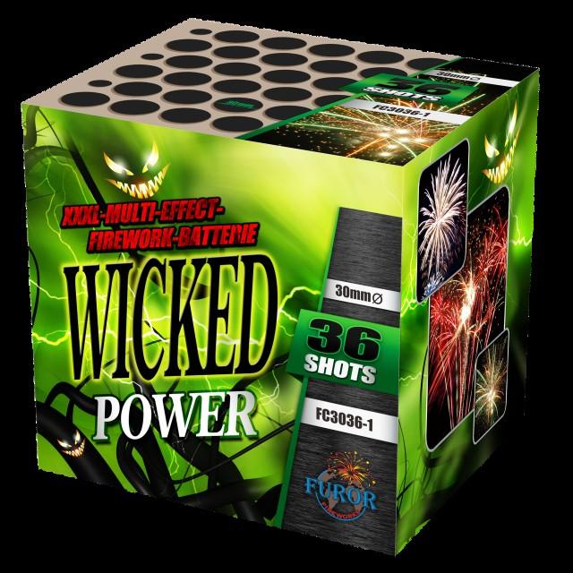 Салют Wicked Power на 36 выстрелов
