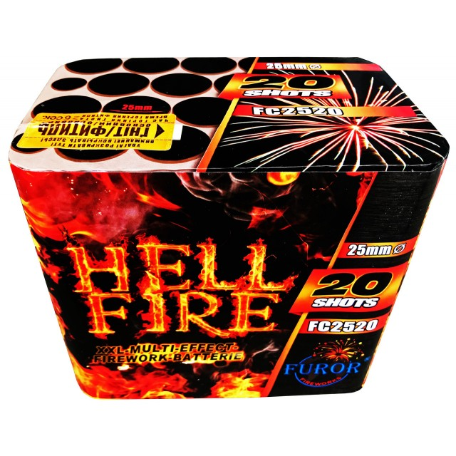 Салют Hell Fire 20 выстрелов Фото 1
