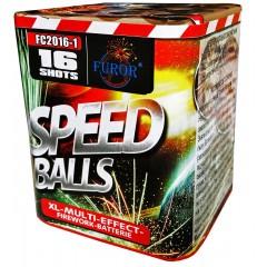 Салют Speed Balls на 16 выстрелов