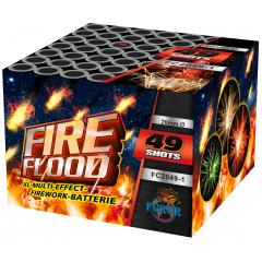 Салют Fire Flood на 49 выстрелов