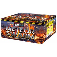 Салют Meteor Swarm на 100 выстрелов