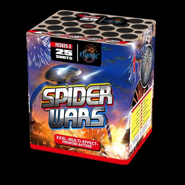 Салют Spider Wars на 25 выстрелов Фото 1