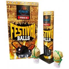 Миномет FESTIVAL BALLS 6 зарядов