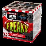 Салют Freaky на 25 выстрелов
