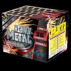 Салют Heavy Metal на 36 выстрелов