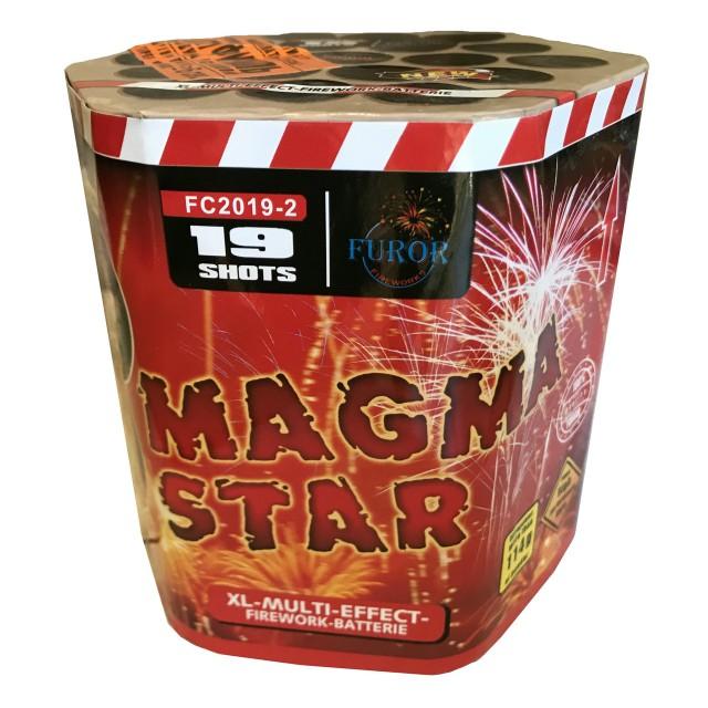 Салют Magma Star на 19 выстрелов