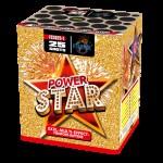Салют Power Star на 25 выстрелов