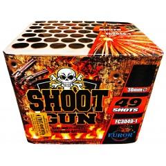 Салют Shoot Gun на 49 выстрелов
